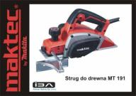 Strug do drewna Maktec MT191 by Makita