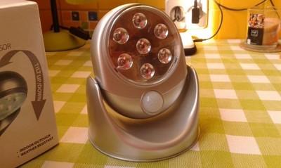 Lampka z czujnikiem sensorem ruchu JYSK (DIRK)