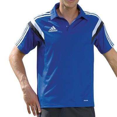 Adidas koszulka męska polo czarna climalite L