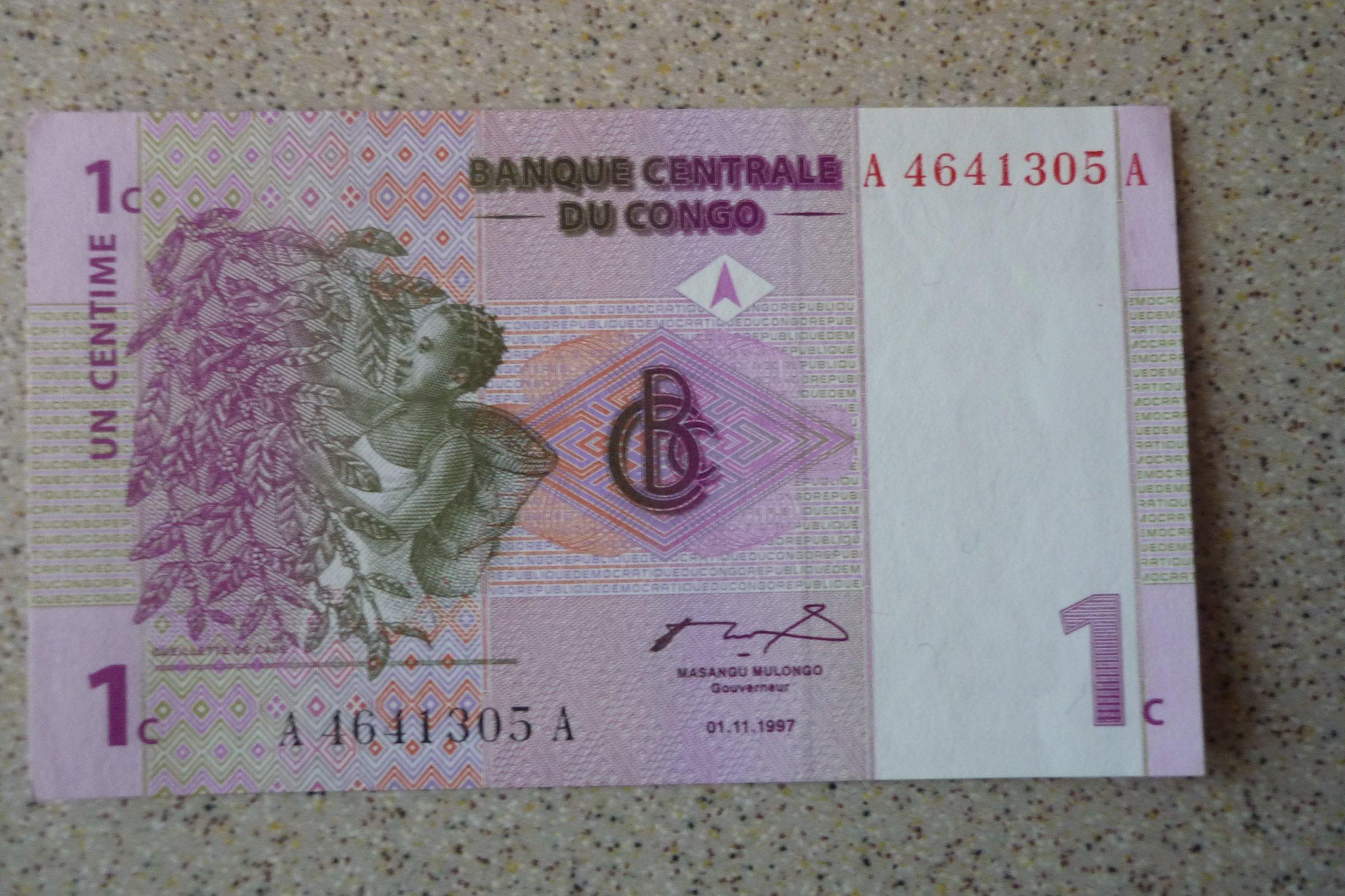 EtiKongo - 1 cent