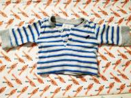 Bluzeczka z długim rękawem Early Days 0-3 m-ca