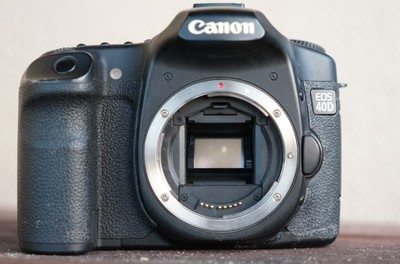 Canon 40d, uszkodzony