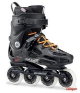Rolki Rollerblade Twister 80 black/orange 2017 285