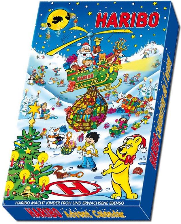 Haribo Kalendarz Adwentowy 24 Okienka Zelki 7044306604 Oficjalne Archiwum Allegro