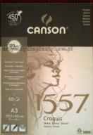 GNK: BLOK RYSUNKOWY CANSON 1557 A3 50K 120G
