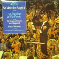 SIR MALCOLM SARGENT  AN EVENING AT THE PROMS LP