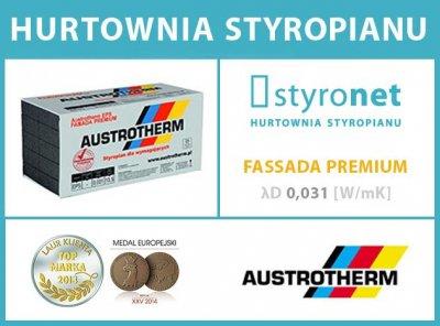 Austrotherm 031 Fasada Styropian Grafitowy 12cm M2 6247207580