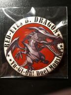 Yu-Gi-Oh! przypinki - Red Eyes B. Dragon