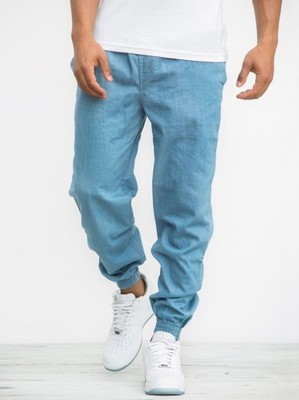 Spodnie joggery denim blue EQUALIZER urban city