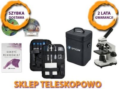 Promocja mikroskop z kamerą usb w walizce gratisy