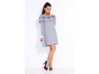 dbc77c7c54 Kobieca sukienka z falbaną UNISIZE - 6679476964 - oficjalne archiwum ...