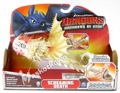JEŹDŹCY SMOKÓW duża figurka akcji Screaming Death