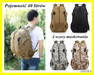 cfaddb7e4b73b Plecak Wojskowy Szturmowy Militarny Taktyczny 40 L - 5703336167 ...