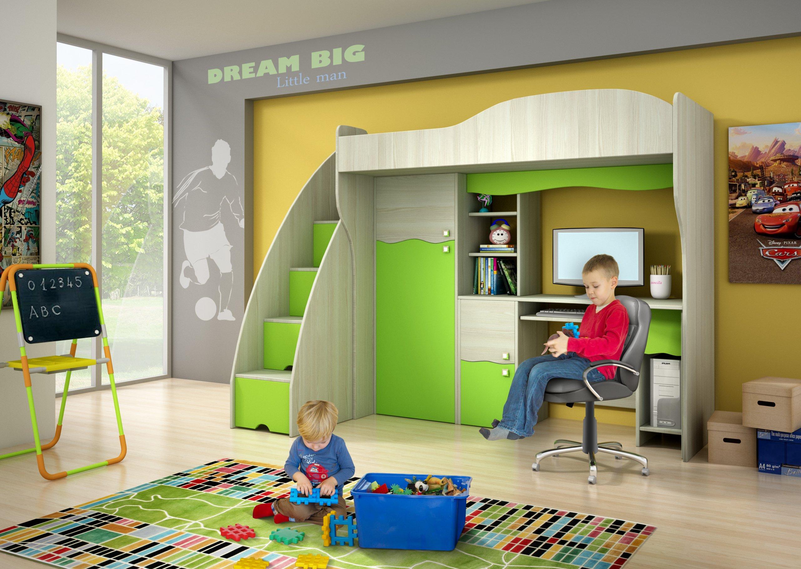 łóżko Biurko Szafa Meble Dziecięce Abc Prestigio 5970274760