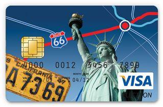 Karta prepaid walutowa USD - wakacje za granicą