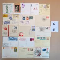 Karty pocztowe kas. okol. MIX BCM!! (K30)