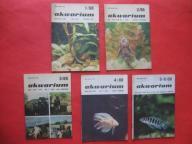 AKWARIUM Rybki Rośliny 6 numerów KOMPLET Rok 1988