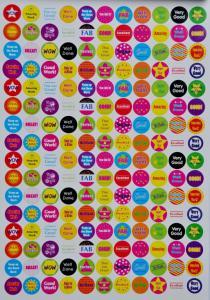 Naklejki Nalepki Motywacyjne A4 Jezyk Angielski 4663747622