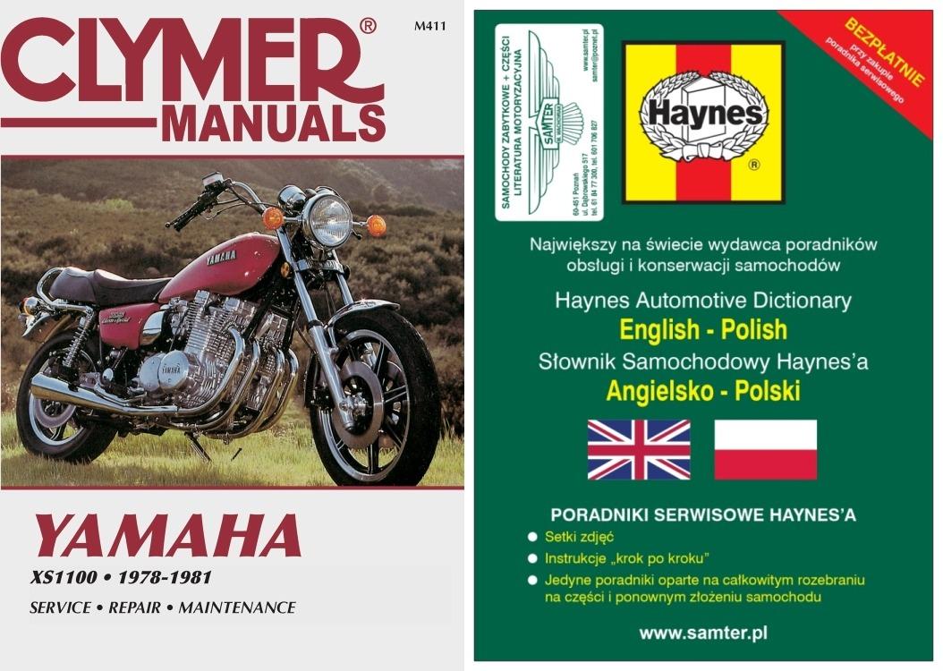 Yamaha Xs1100 1978 1981 Instrukcja Napraw Clymer 7005921034 Wiring Diagram For
