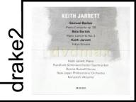 KEITH JARRETT: BARBER/BARTOK [CD]