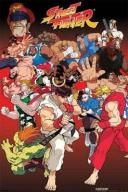 Street Fighter (Anime) - plakat 61x91,5 cm