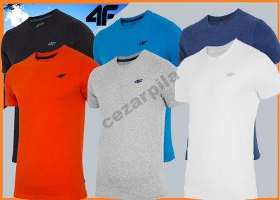 3611ddf66 4F T-shirt męski TSM002 L16 BIAŁA r. M - 6051591295 - oficjalne ...