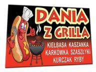 BANER 2x1m + PROJEKT bar pub hamburgery lody grill