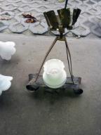 Metalowy Żyrandol/lampa