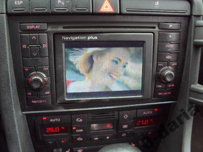 audi a4 b6 b7 radio cd tv navi navigation plus. Black Bedroom Furniture Sets. Home Design Ideas