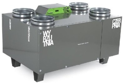 OXY Rekuperator AirPack 650v LUBLIN THESSLA GREEN