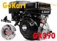 SILNIK GX390 13KM MINIBIKE GOKART BUGGY DRIFT 25mm