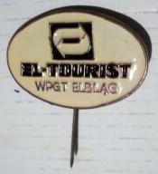 WPGT Elbląg EL-TOURIST - stara odznaka .