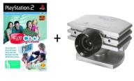 EYETOY CHAT LIGHT + KAMERA PS2  EYE TOY