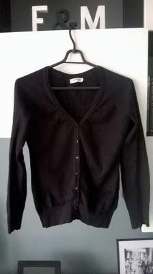 Sweter rozpinany Orsay czarny
