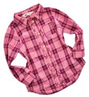 H&M*Cudna kraciasta koszula z falbankami*104