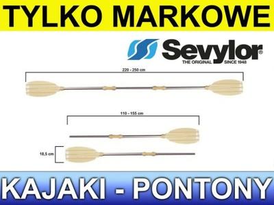 Wiosło pontonowe 2x 150cm SEVYLOR KB-HOBBY 250 ALU