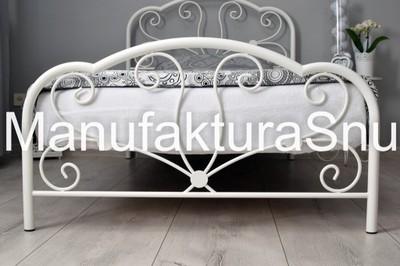 Glossy Nowoczesne łóżko Metalowe 120x200 6789087788