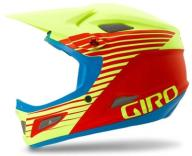 Kask GIRO Cipher Glow Red Yellow S # DH FR