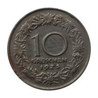 10 groszy 1925 Austria st.III