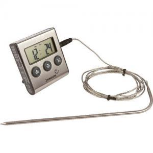 Termometr Z Sondą 1,5m Do Żywności,Wędzarni 0-250c