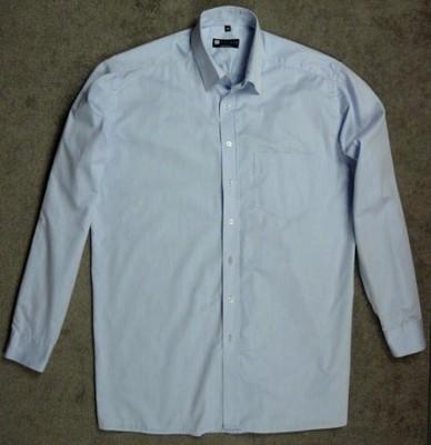 błękitna męska koszula VISTULA BUSINESS - 44 / XL