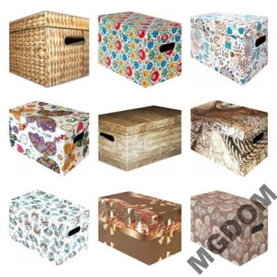 Pudełko Kartonowe Pudełka Ozdobne Karton Duże Xxl