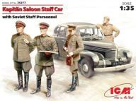 ICM 35477 - Kapitan Saloon Staff Car w/crew1:35