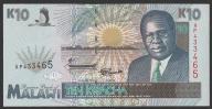 Malawi - 10 kwacha - 1995 - stan UNC