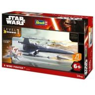 REVELL STAR WARS X-WING FIGHTER 06753 6+