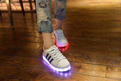 buty led podświetlane adidasy superstar