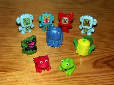 Zabawki Z Kinder Niespodzianki Roboty I Psikajace 6508881609 Oficjalne Archiwum Allegro