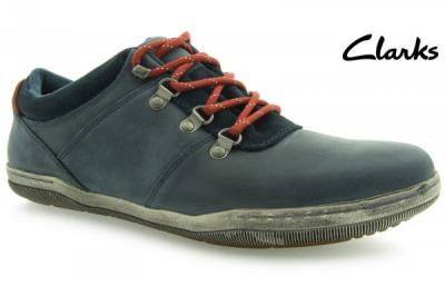 f36c5cae3daa4 promocja -30% buty CLARKS NEWTOWN SOUL skóra 40 - 2938667431 ...