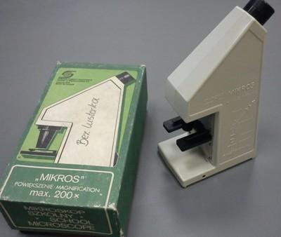 Polski mikroskop szkolny biofiz 200x