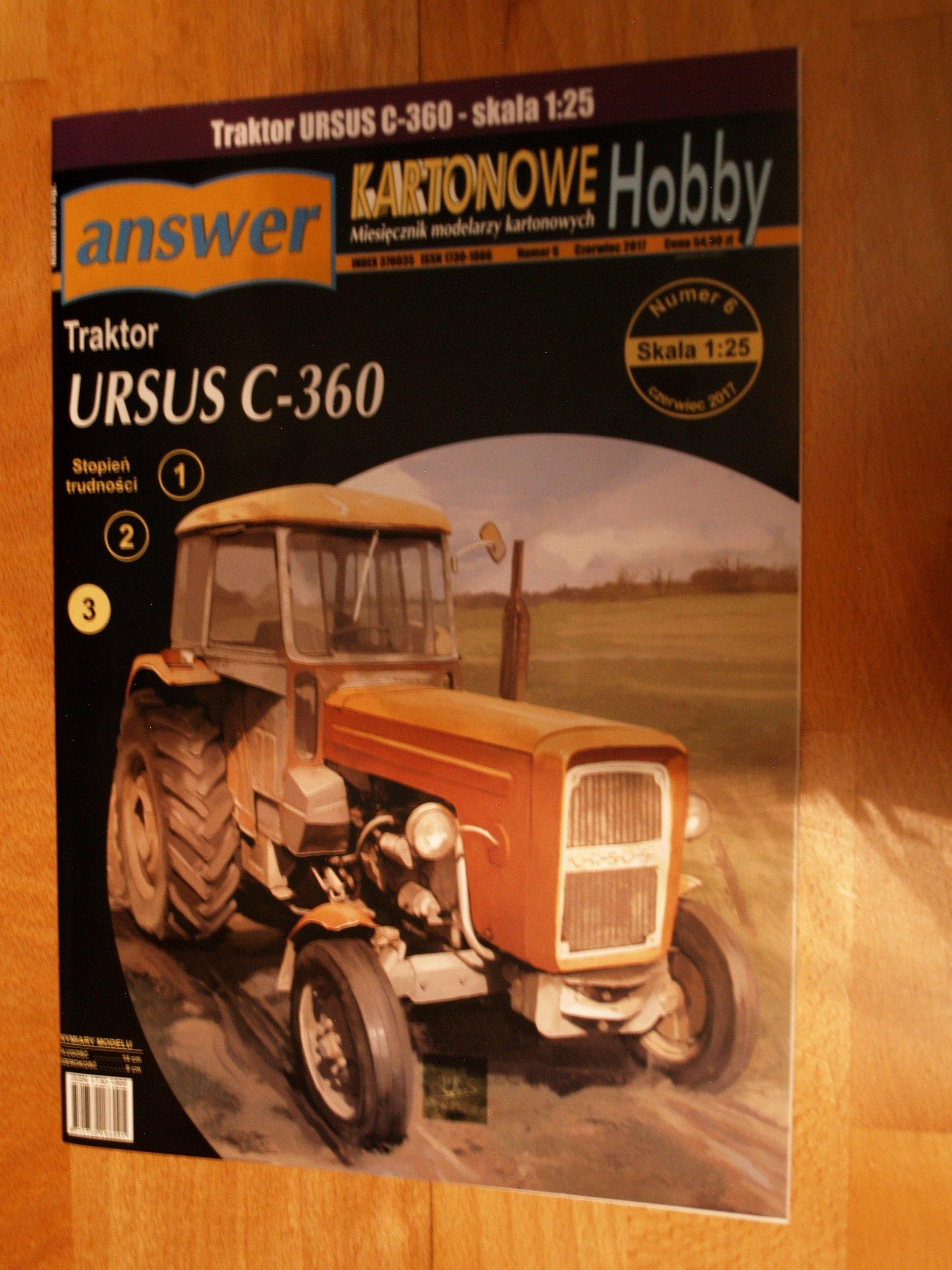 Answer Ursus C 360 7061151179 Oficjalne Archiwum Allegro